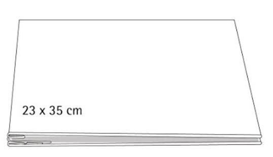 Album weiß geschraubt 23x35cm