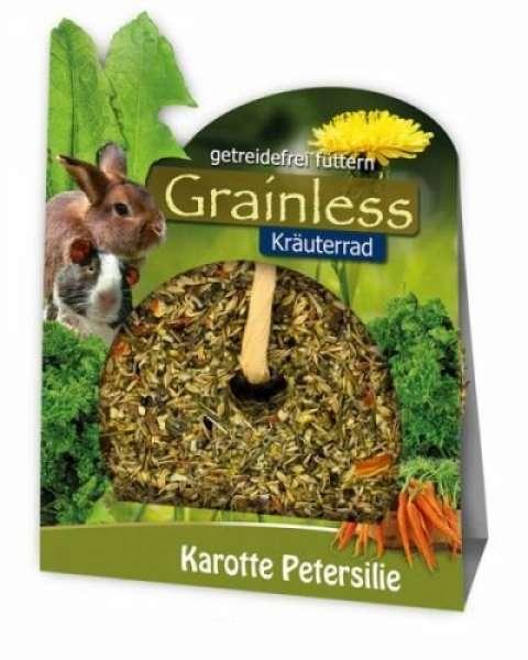 JR Grainless Kräuter-Rad Karotte Petersilie 140g