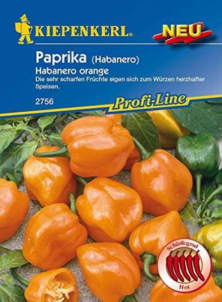 Paprika Habanero orange