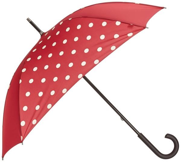 REI Umbrella ruby dots