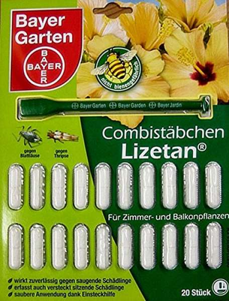 Bayer Garten Combistäbchen Lizetan 20 Stück