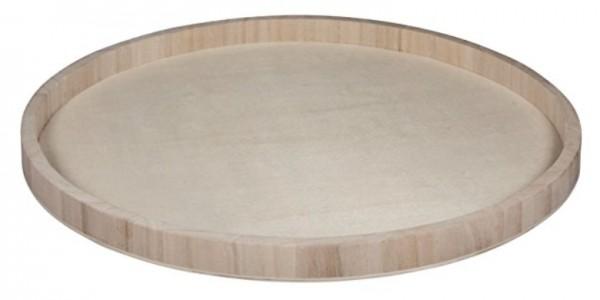 Holz Tablett D40cm