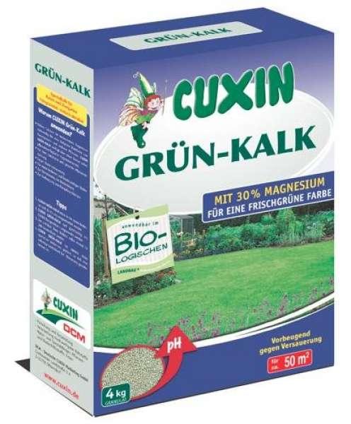 CUXIN DCM Grün-Kalk 4 kg