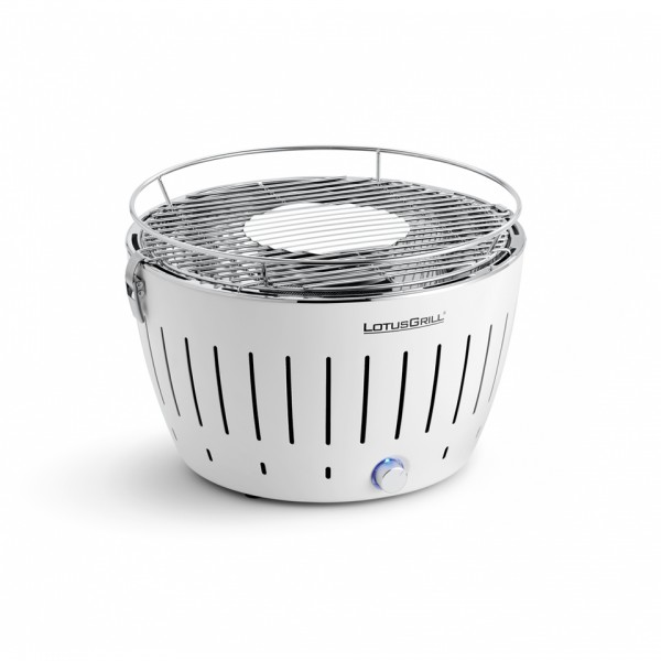 LotusGrill Kohlegrill Mangostin-Weiß