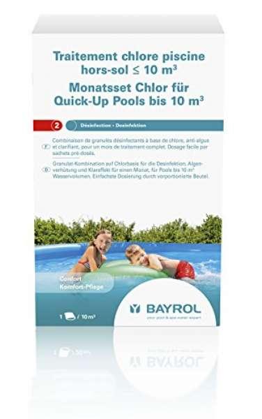 BAYROL Monats-Set Chlor bis 10m³