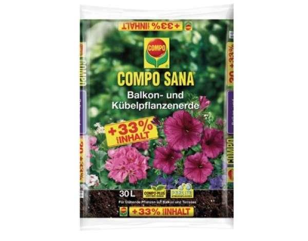 Compo Sana Balkon- u. Kübelpflanzenerde 30L