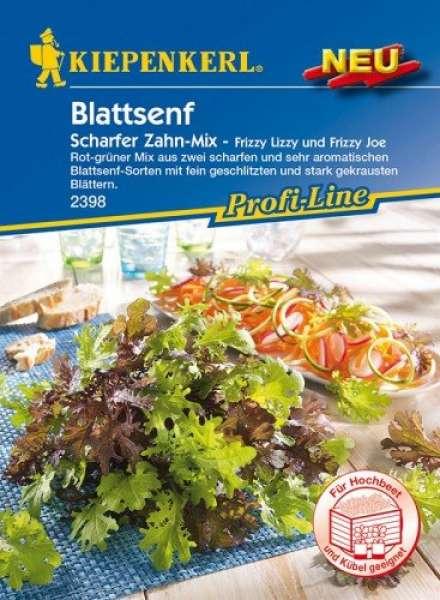 Kiepenkerl Blattsenf Scharfer Zahn Mix