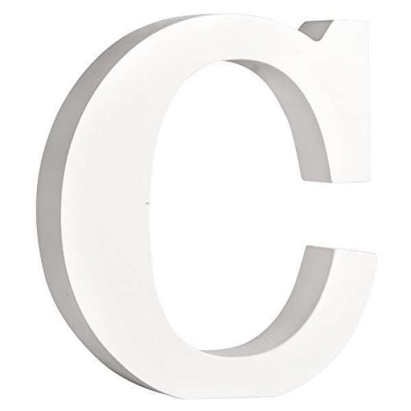 Buchstabe C weiß