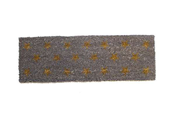 Fußmatte Sterne grau 25x75cm