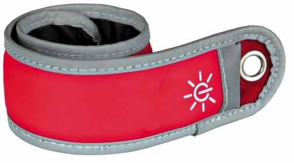 Trixie Flash Schnappband für Hundeführer rot, 35 cm