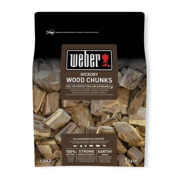 Wood Chunks Hickory 1,5Kg