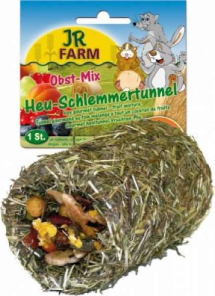JR Farm 125g Heu Schl.Tunnel Obst Mix
