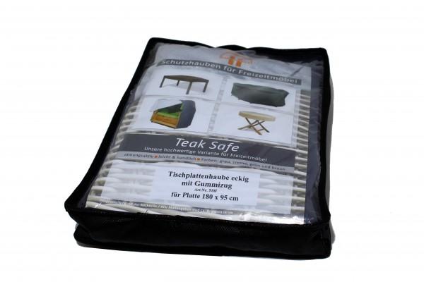 Tischplattenhaube180x95cm TeakSafe grau