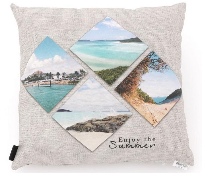 madison dekokissen enjoy the summer 50x50 cm sitzkissen auflagen kissen gartenm bel. Black Bedroom Furniture Sets. Home Design Ideas