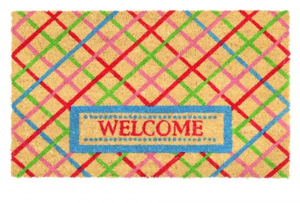 Gift Company Fußmatte 'Welcome' bunt 45x75cm