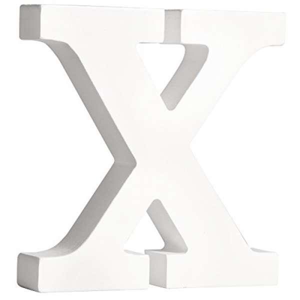 Buchstabe X weiß
