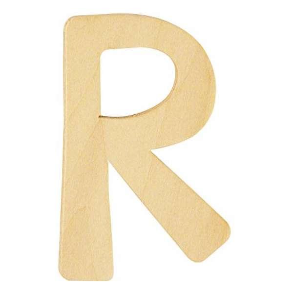 Holz Buchstabe R
