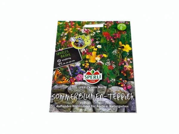 Sommerblumen-Tepich