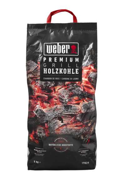Holzkohle Weber Premium 05,0kg