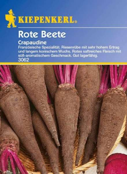 Rote Beete Crapaudine