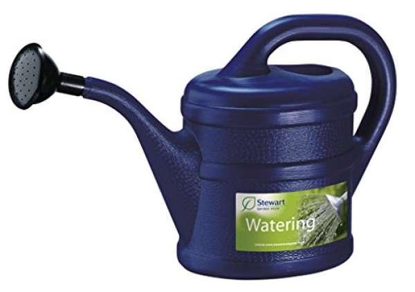 Gießkanne Inhalt 2 Liter aus Kunststoff, Farbe:blau