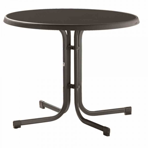 Sieger Gartentisch Mecalit 72cm Schiefer Grau Tische Metallmobel