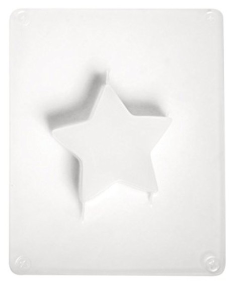 Gießform Stern 6,5 x 6,5 x 1,7 cm