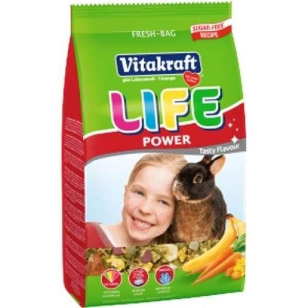 Vitakraft LIFE Power für Zwergkaninchen 600g