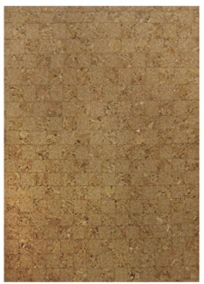 Kork Papier Mosaik selbstklebend 20,5x28cm