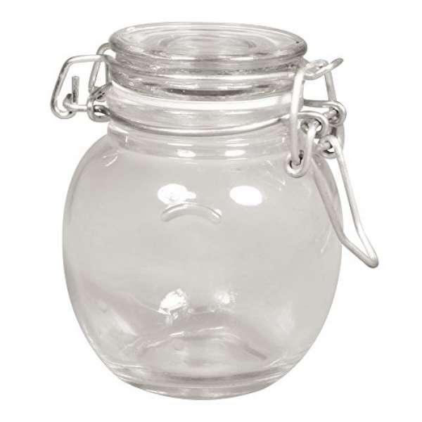 Kippdeckelglas mini 6,5cm