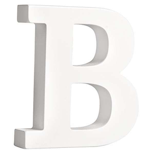 Buchstabe B weiß
