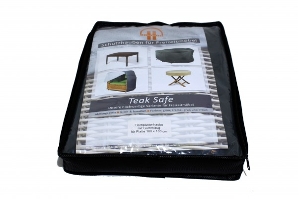 Tischplattenhaube180x100cm TeakSafe grün