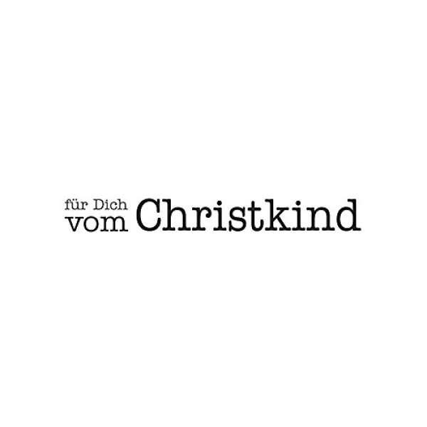 """Stempel """"für Dich vom Christkind"""""""