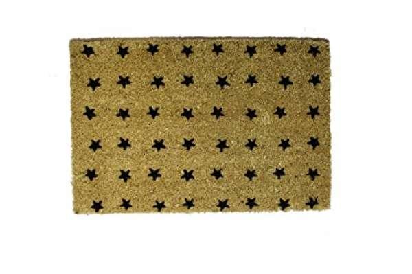 FuMa KH Sterne hell schwarz 40x60cm