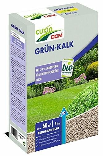 Cuxin Dcm Grun Kalk 3 Kg Bodenverbesserer Dunger Garten