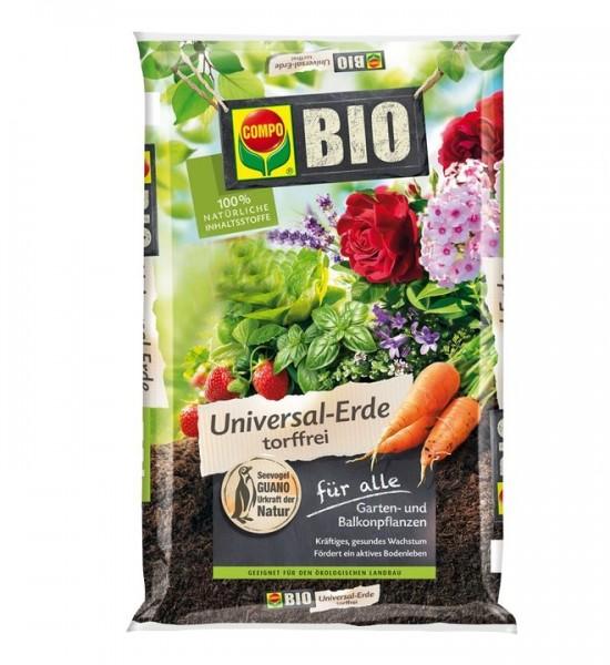 COMPO SANA Universalerde Bio Torffrei 40 Liter