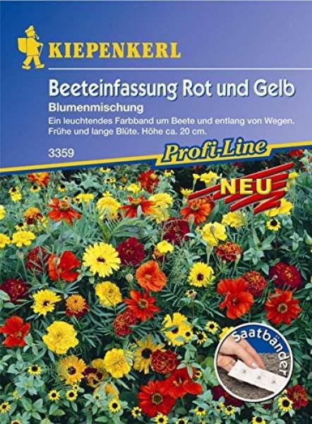 Blumenmix Rot+Gelb Saatb.