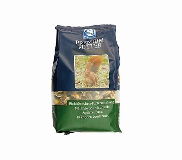 Eichhörnchen Futter 600g Premium