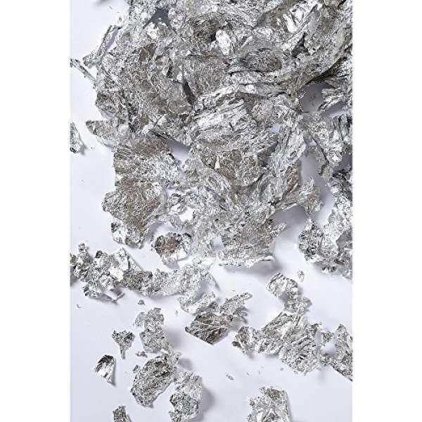 Deco Metall Flocken 01g silber