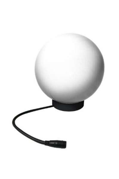 Lichtkugel D:25cm weiß Halogen 32W