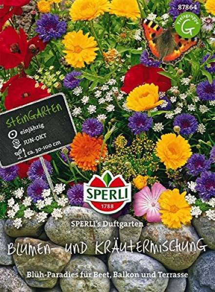 Blumen- und Kräutermischung
