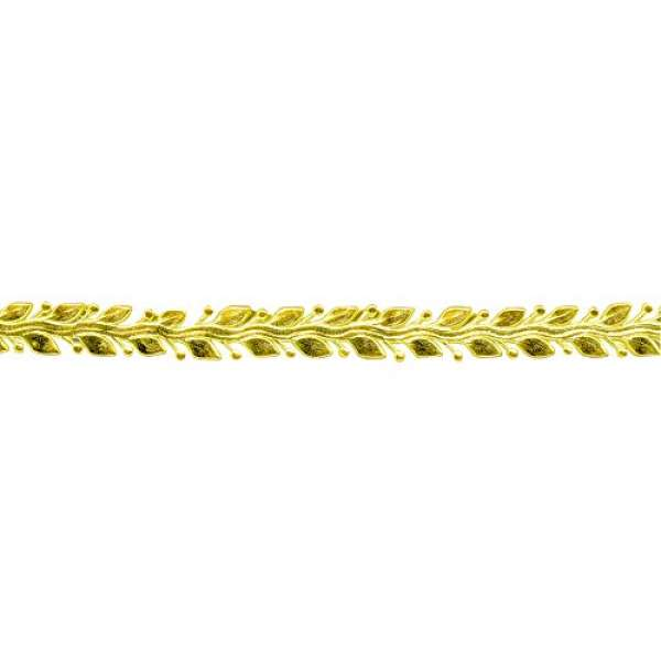 Wachs Borte 24x1,2cm 1St. gold