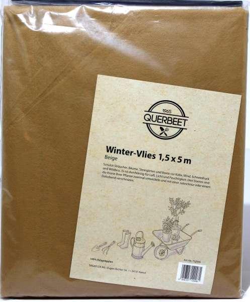Winterschutz- Vlies beige