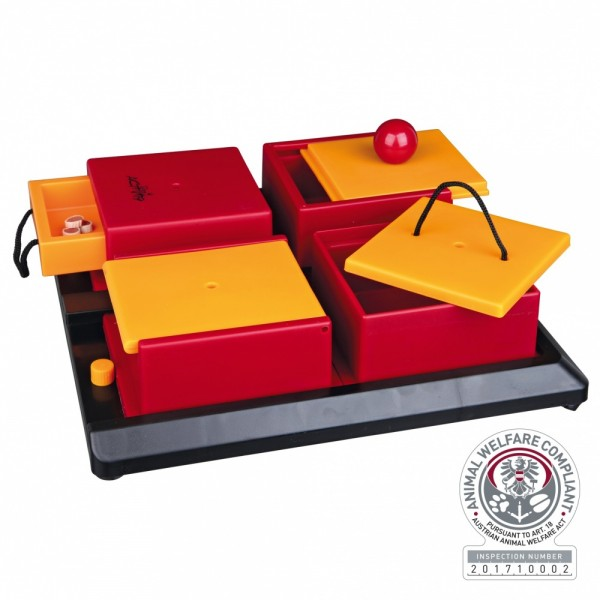 Trixie Dog Activity Poker Box 1 Strategiespiel, 31×10×31 cm