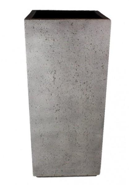 blumenk bel f r drau en pflanzgef grau quadratisch in. Black Bedroom Furniture Sets. Home Design Ideas