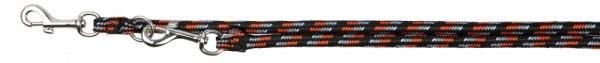 Trixie Mountain Rope Verlängerungsleine schwarz/orange, L-XL: 2,00 m/ø 13 mm