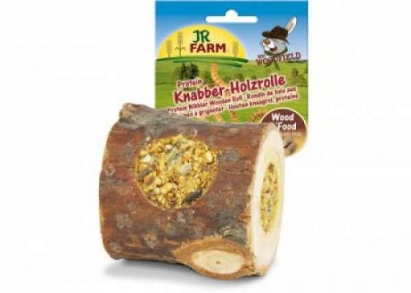 JR Farm Mr. Woodfield Knabber-Holzrolle 150g