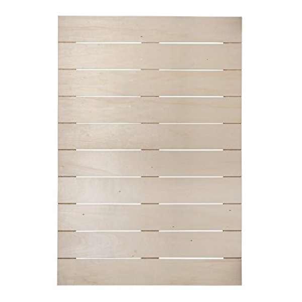 Holz Lattenrahmen 50x71,5x0,7cm +2Haken