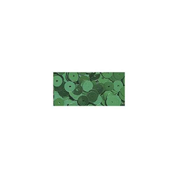 Pailletten gewölb. blaugrün