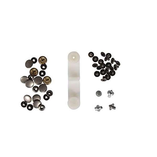 Druckknöpfe D:15mm 10St. silber alt